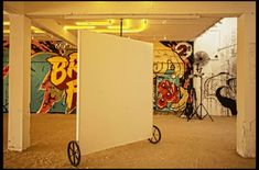 WALLS ON WHEELS...inside art gallery spaces - Google Search