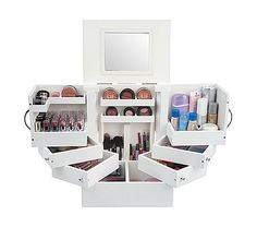$76QVC and Ikea have the best makeup organizers for small spaces...;o