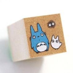 Studio Ghibli My Neighbor Totoro Rubber Stamp (Type C)【Stationery】