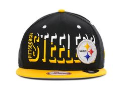 NFL Pittsburgh Steelers Snapback Black 113 9464|only US$8.90