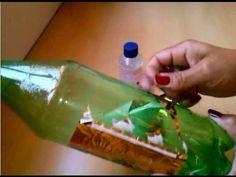Como retirar a cola do rotulo da garrafa pet