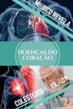 Doenças do coração: Médico revela que colesterol não é o grande vilão. #DicasdeSaúde #SaúdeeBoaForma #Medicina