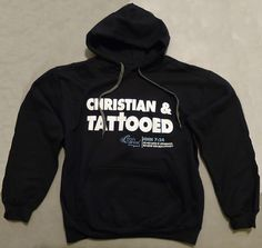Christian & Tattooed hoodies are here!