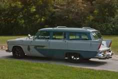 1956 Plymouth Sport Suburban station wagon.