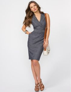 Le Chateau - Love this dress... this is what I am going to buy when I reach my ideal weight/size!
