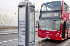 London Bus: Route Map and E-Ink Display