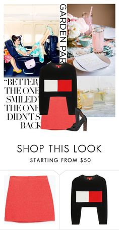 """Untitled #1873"" by yerina ❤ liked on Polyvore featuring Zara, Tommy Hilfiger and STELLA McCARTNEY"