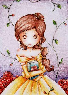 Belle+by+Papergardens.deviantart.com