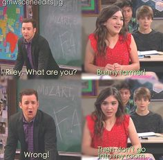Cory & Riley (Girl Meets World; Girl Meets I Am Farkle)