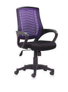 45% OFF Zuo Truth Office Chair (Purple)