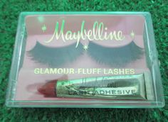 "Maybelline ""Glamour-Fluff"" Lashes, c. 1970"