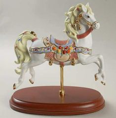 Year? Gem Lenox Topaz & Tulips Carousel Horse Replacements, Ltd
