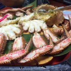 5 Foods You Have to Eat in Sapporo: Crab   Alyssa & Carla