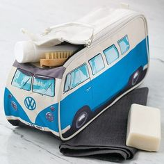 VW CamperVan Travel Wash Bag