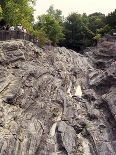 Kelly's Island Glacial Grooves, great childhood memories from summer vacations with my dad here at Kelly's Island!