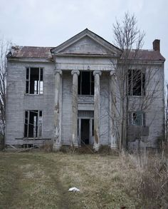 Haunted and abandoned - if old houses could talk, I would sit and listen to their stories....