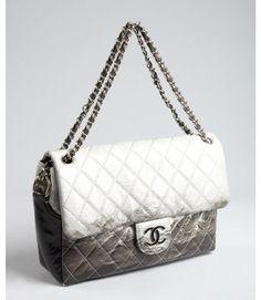 b0d85ed55e9e Chanel Grey Matelasse Patent Leather Chain Strap Vintage Shoulder Bag in  Gray (grey)  4