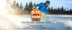 SKI areál Kopřivná Večerní lyžování zdarma na Kopřivné 9.12.2016