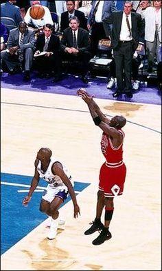 Michael Jordan's sixth NBA Title won with his last shot. June 14th, 1998. NBA Finals - Utah Jazz Vs. Chicago Bulls - Game 6. Jordan's game winner and highlights