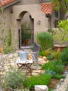 mediterrane gartengestaltung - 45 gartenideen und gartenmöbel, Gartenarbeit ideen