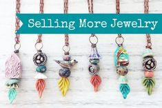 Art Bead Scene Blog: Selling More Jewelry Part 3 - Selling at Events