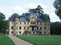 Chateau du Four de Vaux - Nievre - I guess this is actually a manor?