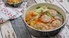 Resep Bakso Jamur Vegetarian Sup Bakso Bakso Jamur