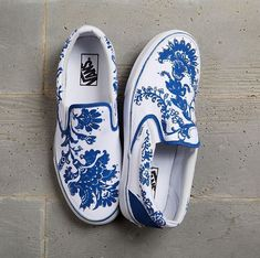 Shoes by 2018 Vans Custom Culture Ambassador, Anouk Walther.