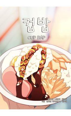 and Drink wallpaper cartoon K Food, Food Menu, Korean Dishes, Korean Food, Aesthetic Food, Aesthetic Anime, Cute Food Art, Cute Food Drawings, Food Wallpaper