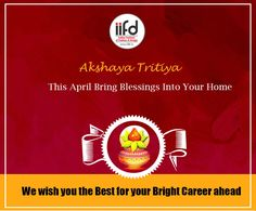 This April Bring Blessing Into Your Home!!  #AkshayaTritiya #AkshayaTritiya2017 #IIFD #Blessing  For #Admission_Process Call @+91-9041766699 OR Visit @ www.iifd.in/  #iifd #best #fashion #designing #institute #chandigarh #mohali #punjab #design #admission #india #fashioncourse #himachal #InteriorDesigning #msc #creative #haryana #textiledesigning
