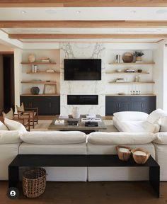 Home Living Room, Living Room Designs, Living Room Decor, Living Spaces, Best Living Room Design, Living Room Inspiration, Home Decor Inspiration, Design Inspiration, Cozy Home Decorating