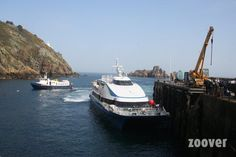 dock on the isle of sark