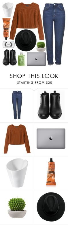 """""""SCARS ON MY BODY SO I CAN TAKE YOU WHEREVER."""" by voguezoe ❤ liked on Polyvore featuring Topshop, Generic Surplus, Monki, Revol, Aesop and MAC Cosmetics"""