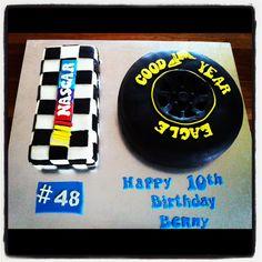My nephews 10th birthday cake