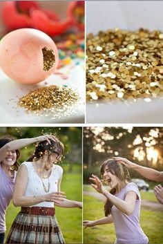 i want to do this. @Eva Nashed Maybe we can do this at my wedding instead of rice? You'll help me right? :)