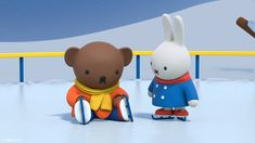 Oh dear, Boris! Female Rabbit, Pocket Edition, Miffy, Dutch Artists, Clay Charms, Black Bear, Sanrio, Smurfs, The Creator