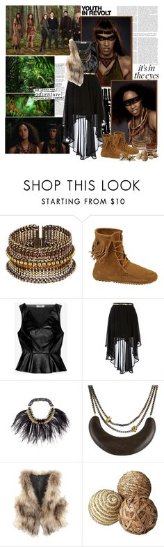 """Breaking Dawn Part 2 : Zafrina and Senna"" by beexcarstairs ❤ liked on Polyvore featuring Hedi Slimane, Cynthia Rowley, Minnetonka, Robert Rodriguez, Dorothy Perkins, Akong, Alexis Bittar, H&M and Kate Spade"