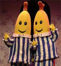 Bananas in Pajamas most favorite show ever!