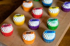 Crayon Cupcakes » With Sprinkles on Top
