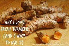 Why I Love Fresh Turmeric (And 6 Ways to Use It) | Modern Alternative MamaModern Alternative Mama