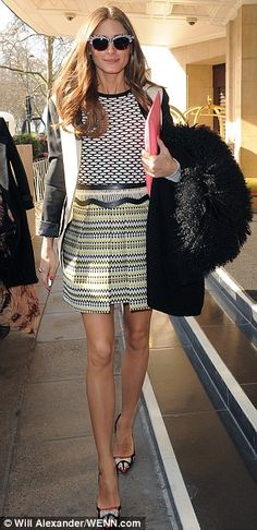 Olivia Palermo at Temperley LFW