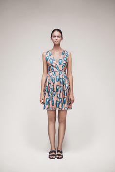 Tuliais Dress | Samuji SS15 Seasonal Collection