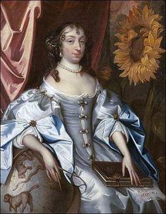 Portrait of Elizabeth Claypole, c.1680