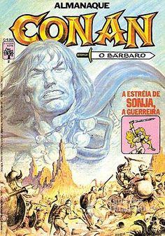 Almanaque Conan, O Bárbaro 1ª Série - n° 2/Abril | Guia dos Quadrinhos