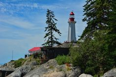 https://flic.kr/p/VUJyk1 | Lighthouse Park - Point Atkinson Lighthouse | West Vancouver, BC Canada  Beacon Lane Trail, Valley Trail,  to East Beach Trail....   Lighthouse Park is a neighbourhood park located in a residential area in West Vancouver. It is a popular tourist attraction for visitors to Vancouver as it is a National Historic Site of Canada.   It is a well-maintained park, and is open year-round throughout all four seasons. The park is known for the Point Atkinson Lighthouse…
