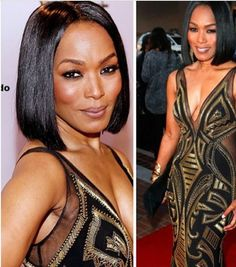 My goodness Ms. Angela Bassette.... Let me get that dress... And those genes...  56 and slaying it
