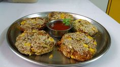 Yummy cutlet loaded with veggies