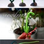 A+Snowdrop+from+Thread