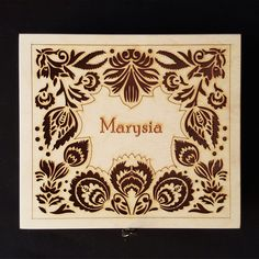 personalised gift ideas - wooden jewellery box with name and #personalised #message engraved on it. #lasercut product. #gifts #for #her #jewellery #boxes