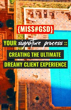 Creating a signature process that wows your clients + makes your projects smoother to manage will free up more time than you'll imagine. A standard of operations or a workflow can seem really complex. until you see how easy it is to do my way!